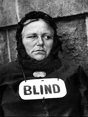 Paul Strand, Blind Woman (1916)